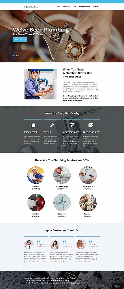 Maintenance Services website inspirations at your coffee break? Browse for more Moto CMS HTML #templates! // Regular price: $139 // Sources available:<b>Sources Not Included</b> #Maintenance Services #Moto CMS HTML