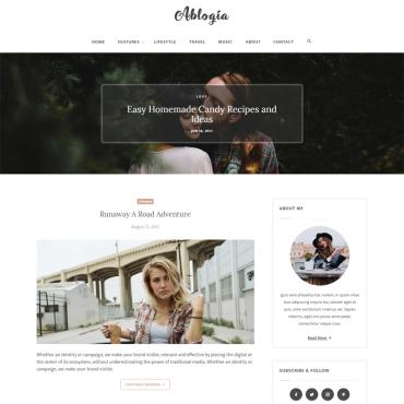 Website Template # 65325