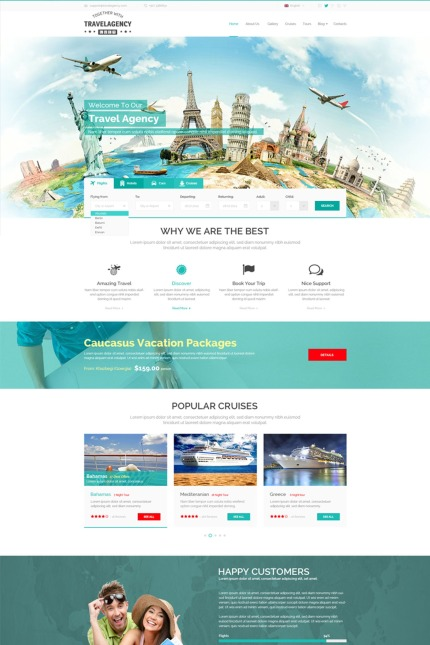 Travel Most Popular website inspirations at your coffee break? Browse for more Vendors #templates! // Regular price: $72 // Sources available: #Travel #Most Popular #Vendors