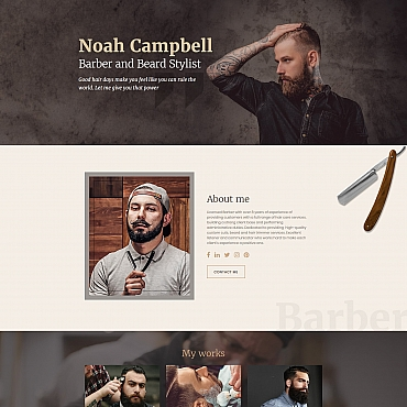 Landing Page Template # 65374