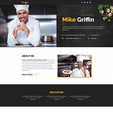 Landing Page Template # 65375