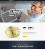 Bitcoin Cryptocurrency Joomla Template