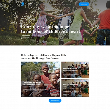 Landing Page Template # 65475