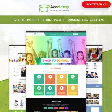 Website Template # 65554