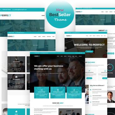 WordPress Theme # 65710
