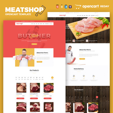 OpenCart Template # 65752