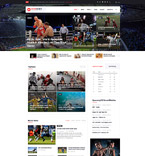 Sport Events Joomla Template