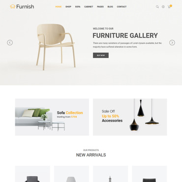 Website Template # 65859
