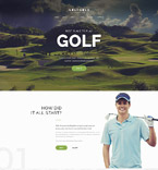Golf Club Joomla Template