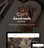 Handmade Workshop Vendors Template