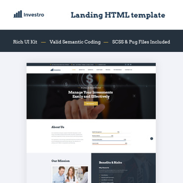 Landing Page Template # 66028