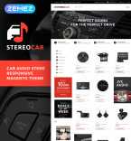 Stereo Car Vendors Template