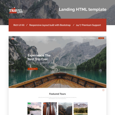 Landing Page Template # 66123