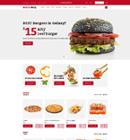 Food Store OpenCart Template