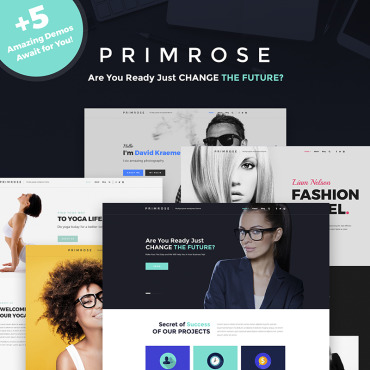 WordPress Theme # 66199