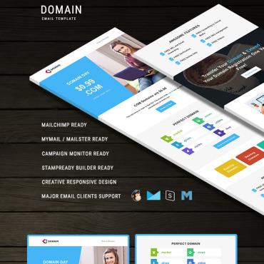 Newsletter Template # 66242
