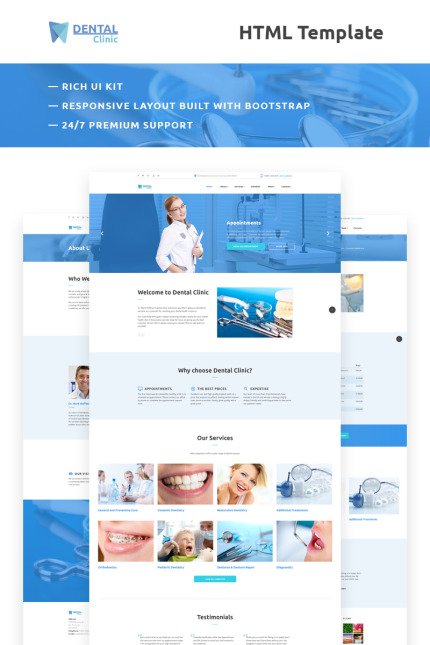 Medical website inspirations at your coffee break? Browse for more Vendors #templates! // Regular price: $75 // Sources available: #Medical #Vendors