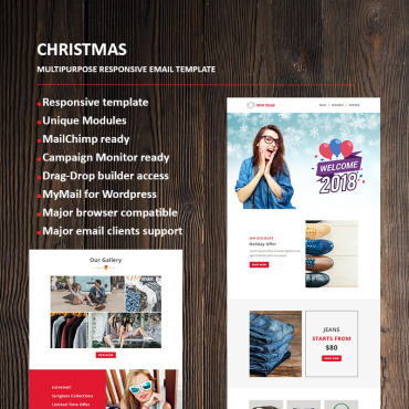 Newsletter Template # 66336