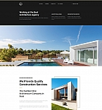 Architecture Agency Landing Page Template