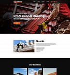 Roofing Landing Page Template