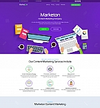 Marketing Company Landing Page Template