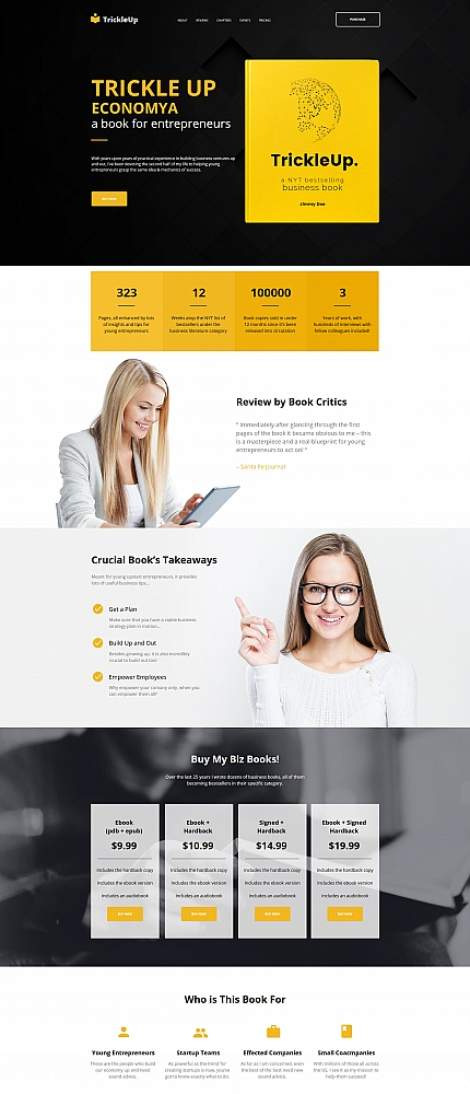 Books website inspirations at your coffee break? Browse for more Moto CMS HTML #templates! // Regular price: $139 // Sources available:<b>Sources Not Included</b> #Books #Moto CMS HTML
