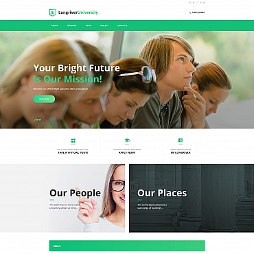 Moto CMS HTML Template # 66428