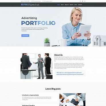 Moto CMS HTML Template # 66429
