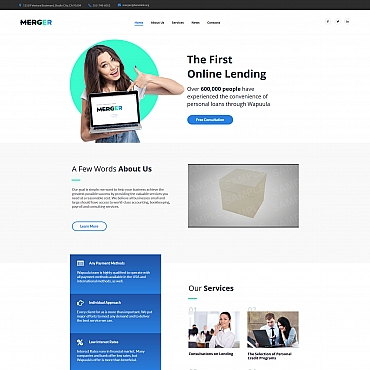 Moto CMS HTML Template # 66431