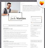 Moto cms cv template 66437 - Buy this design now for only $19