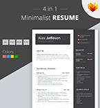 Template 66442 Resume Templates