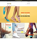 Shoe Store Landing Page Template