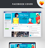 Template 66597 Facebook cover
