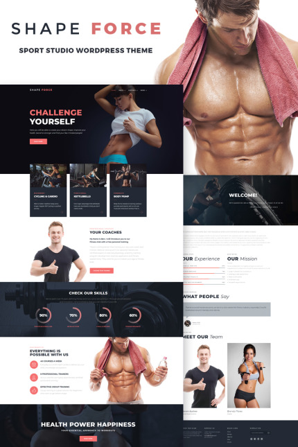 Sport Most Popular website inspirations at your coffee break? Browse for more Vendors #templates! // Regular price: $75 // Sources available: #Sport #Most Popular #Vendors