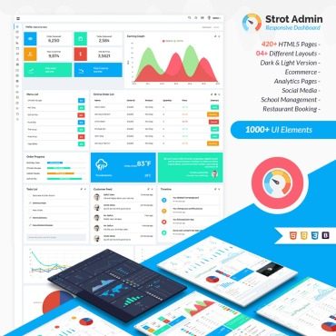 Admin Template # 66860