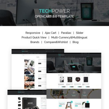 OpenCart Template # 66882