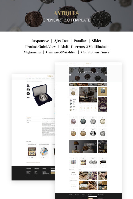 Antique Templates website inspirations at your coffee break? Browse for more Vendors #templates! // Regular price: $69 // Sources available: #Antique Templates #Vendors