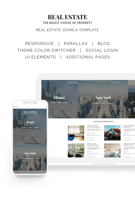Real Estate website inspirations at your coffee break? Browse for more Vendors #templates! // Regular price: $75 // Sources available: #Real Estate #Vendors