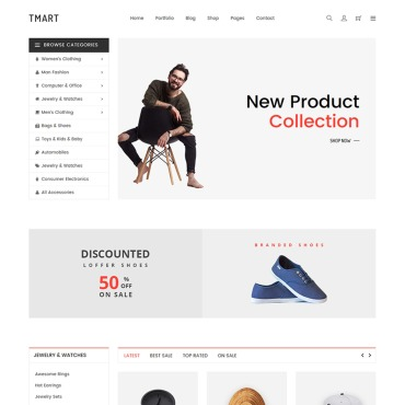 Website Template # 67064