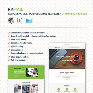 Newsletter Template # 67072