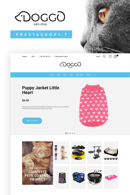 Animals & Pets website inspirations at your coffee break? Browse for more Vendors #templates! // Regular price: $79 // Sources available: #Animals & Pets #Vendors