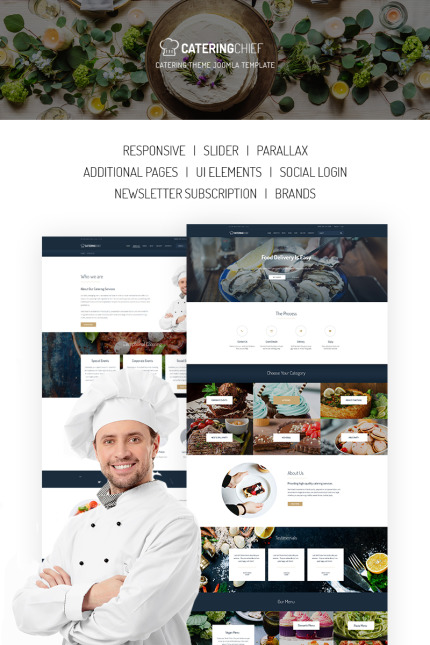 Food & Drink Most Popular website inspirations at your coffee break? Browse for more Vendors #templates! // Regular price: $75 // Sources available: #Food & Drink #Most Popular #Vendors