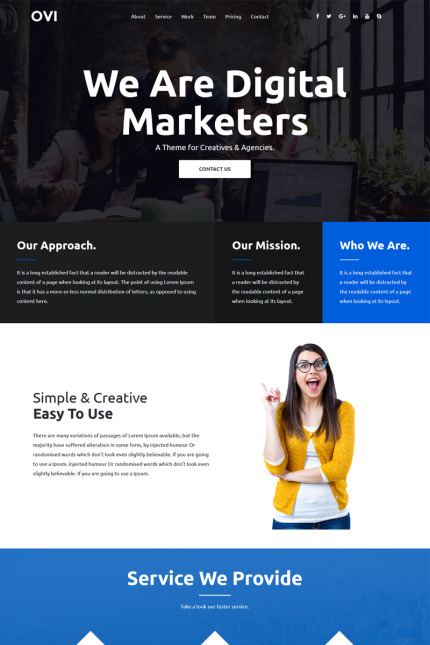 Business website inspirations at your coffee break? Browse for more Vendors #templates! // Regular price: $75 // Sources available: #Business #Vendors