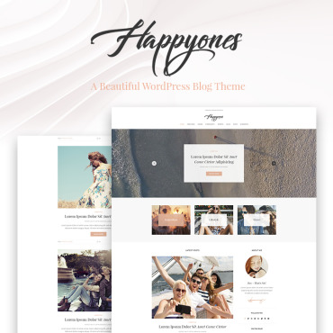 WordPress Theme # 67285