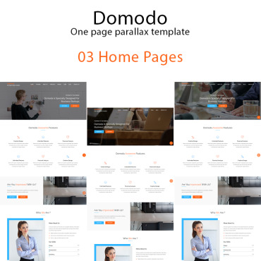 Landing Page Template # 67377