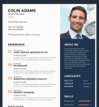 Template 67388 Resume Templates