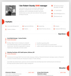 Template 67414 Resume Templates