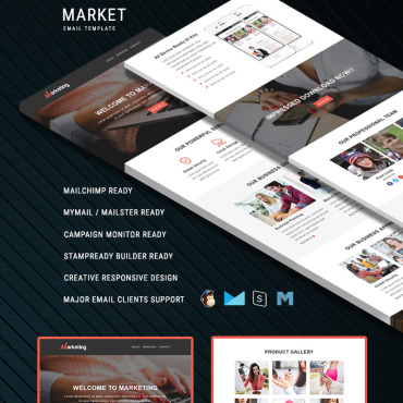 Newsletter Template # 67449
