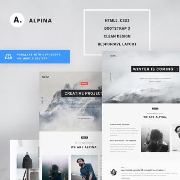 Landing Page Template # 67503