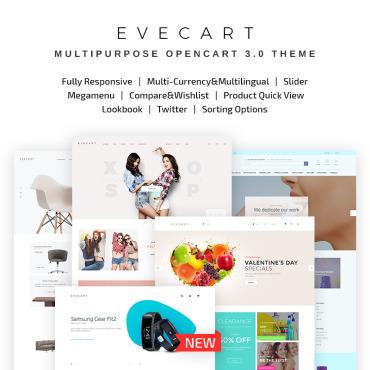 OpenCart Template # 67571